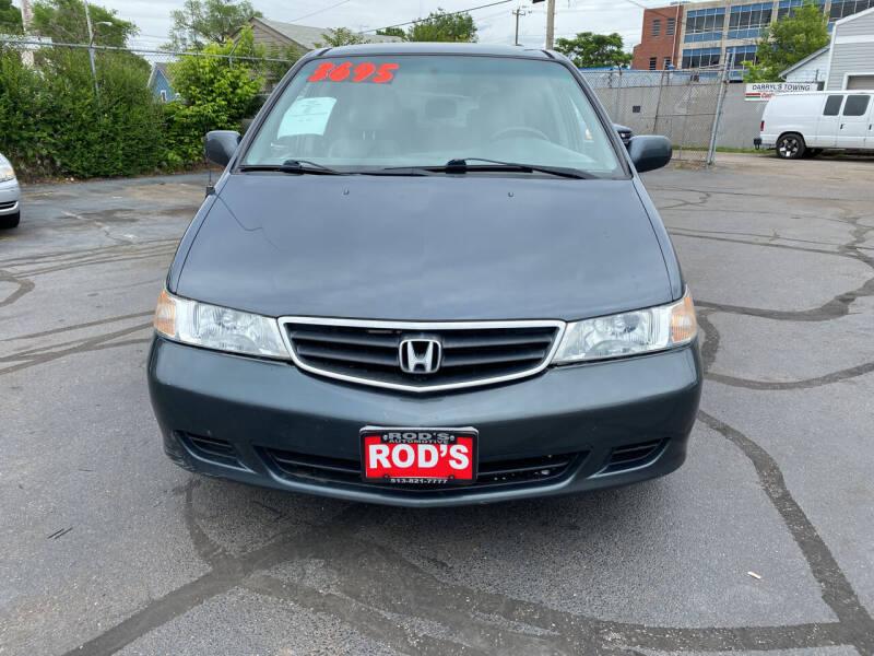 2004 Honda Odyssey for sale at Rod's Automotive in Cincinnati OH
