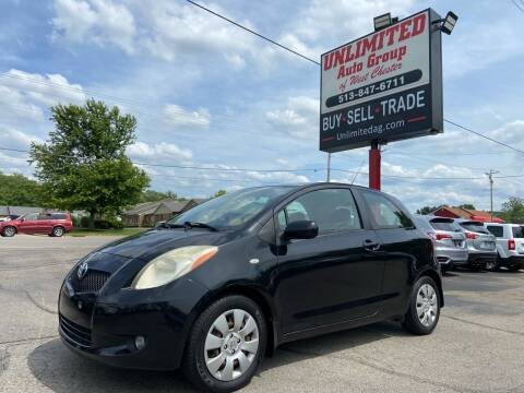 2008 Toyota Yaris for sale at Unlimited Auto Group in West Chester OH