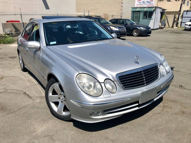 2003 Mercedes-Benz E-Class for sale at TMT Motors in San Diego CA