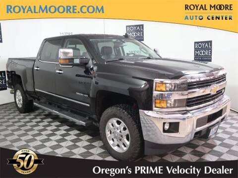 2015 Chevrolet Silverado 2500HD for sale at Royal Moore Custom Finance in Hillsboro OR