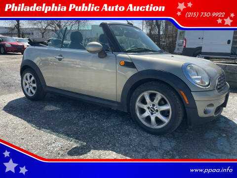 2010 MINI Cooper for sale at Philadelphia Public Auto Auction in Philadelphia PA