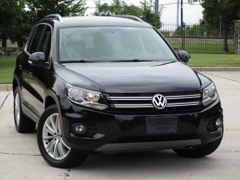2013 Volkswagen Tiguan for sale at Ritz Auto Group in Dallas TX