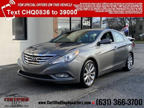 2012 Hyundai Sonata for sale at CERTIFIED HEADQUARTERS in St James NY