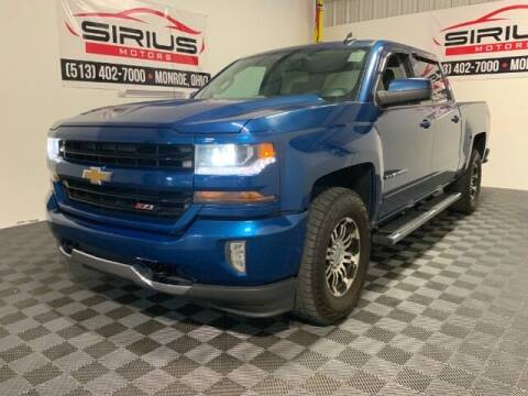 2017 Chevrolet Silverado 1500 for sale at SIRIUS MOTORS INC in Monroe OH