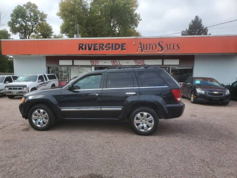 2008 Jeep Grand Cherokee for sale at RIVERSIDE AUTO SALES in Sioux City IA