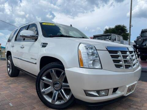 2012 Cadillac Escalade for sale at Cars of Tampa in Tampa FL
