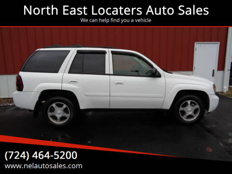 2008 Chevrolet TrailBlazer for sale at North East Locaters Auto Sales in Indiana PA