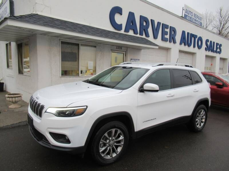 2019 Jeep Cherokee for sale at Carver Auto Sales in Saint Paul MN