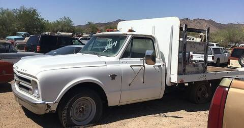 1968 Chevrolet C/K 10 Series for sale at Collector Car Channel - Desert Gardens Mobile Homes in Quartzsite AZ