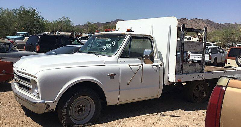 1968 Chevrolet C/K 10 Series for sale at Collector Car Channel - Desert Gardens Mobile Homes in Quartzsite AZ