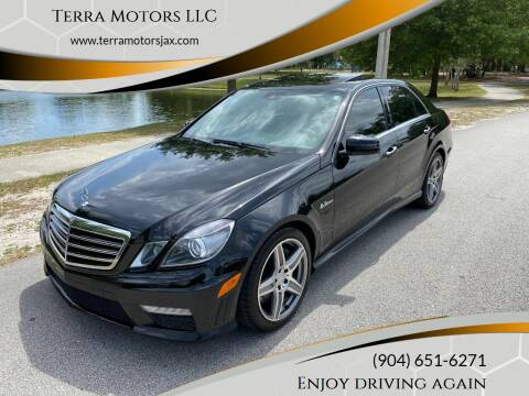 2010 Mercedes-Benz E-Class for sale at Terra Motors LLC in Jacksonville FL