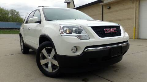 2012 GMC Acadia for sale at Prudential Auto Leasing in Hudson OH