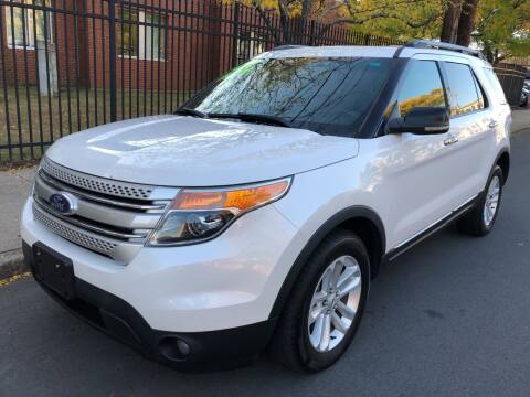 2012 Ford Explorer for sale at Commercial Street Auto Sales in Lynn MA