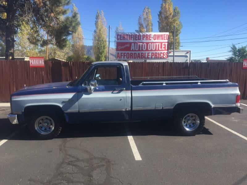 1986 Chevrolet C/K 10 Series for sale at Flagstaff Auto Outlet in Flagstaff AZ