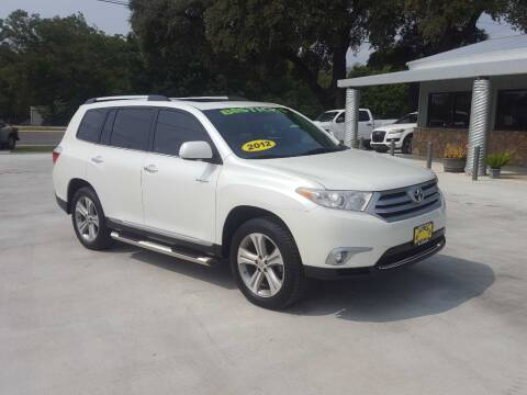 2012 Toyota Highlander for sale at Bostick's Auto & Truck Sales in Brownwood TX