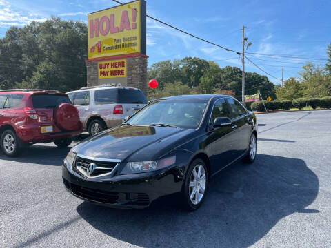2005 Acura TSX for sale at No Full Coverage Auto Sales in Austell GA