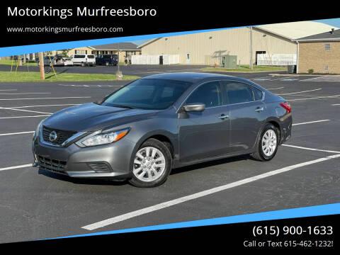 2017 Nissan Altima for sale at Motorkings Murfreesboro in Murfreesboro TN
