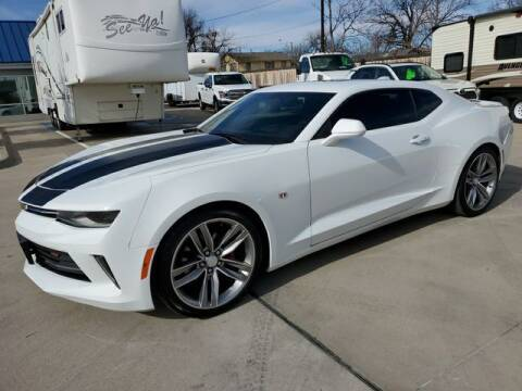 2017 Chevrolet Camaro for sale at Kell Auto Sales, Inc - Grace Street in Wichita Falls TX
