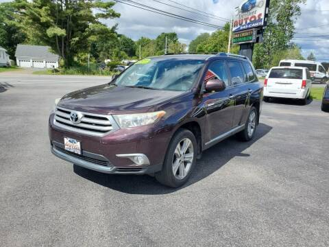 2011 Toyota Highlander for sale at Excellent Autos in Amsterdam NY