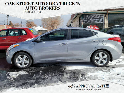 2013 Hyundai Elantra for sale at Oak Street Auto DBA Truck 'N Auto Brokers in Pocatello ID