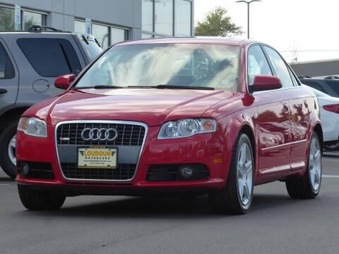 2008 Audi A4 for sale at Loudoun Used Cars - LOUDOUN MOTOR CARS in Chantilly VA