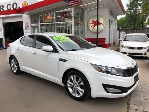 2013 Kia Optima for sale at Richmond Car Co in Richmond TX