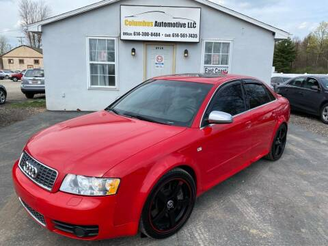 2005 Audi S4 for sale at COLUMBUS AUTOMOTIVE in Reynoldsburg OH