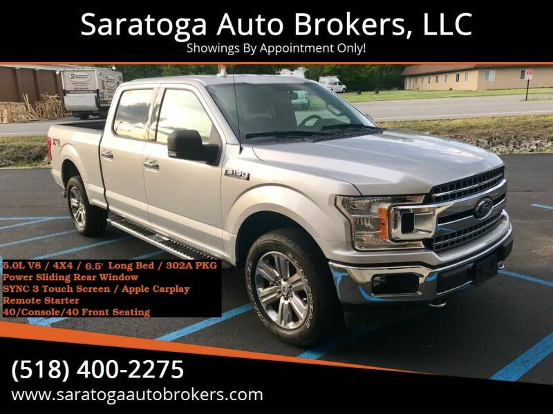 2018 Ford F-150 for sale at Saratoga Auto Brokers, LLC in Wilton NY