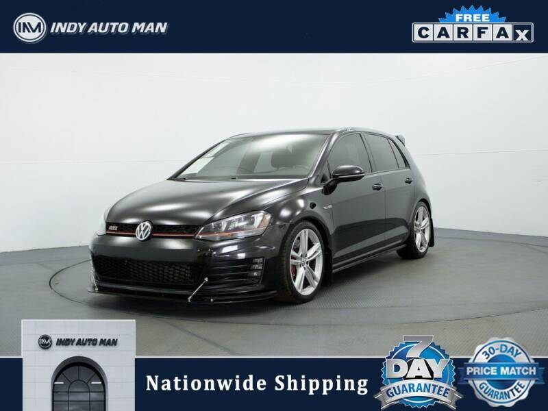 2017 Volkswagen Golf GTI for sale at INDY AUTO MAN in Indianapolis IN