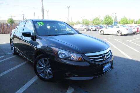 2012 Honda Accord for sale at Choice Auto & Truck in Sacramento CA