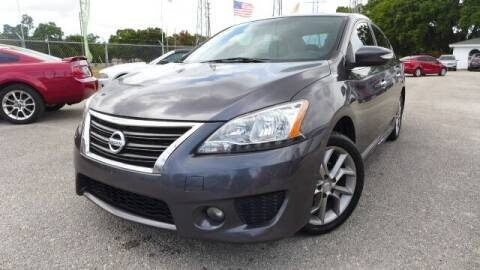 2015 Nissan Sentra for sale at Das Autohaus Quality Used Cars in Clearwater FL