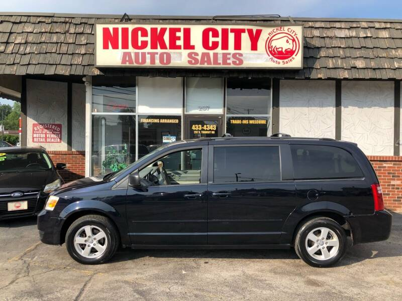 2010 Dodge Grand Caravan for sale at NICKEL CITY AUTO SALES in Lockport NY