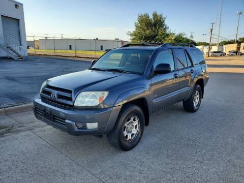 2003 Toyota 4Runner for sale at DFW Autohaus in Dallas TX