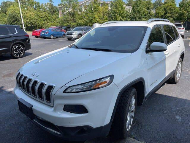 2017 Jeep Cherokee for sale at Planet Automotive Group in Charlotte NC