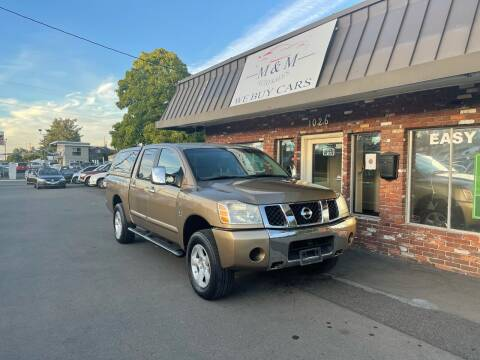 2004 Nissan Titan for sale at M&M Auto Sales in Portland OR
