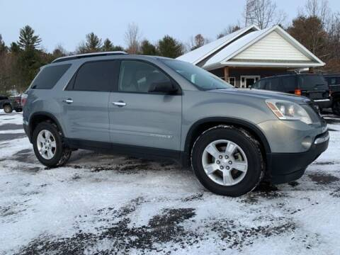2008 GMC Acadia for sale at Drivers Choice Auto & Truck in Fife Lake MI