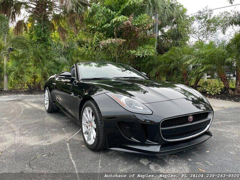 2016 Jaguar F-TYPE for sale at Autohaus of Naples in Naples FL