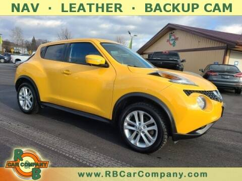 2015 Nissan JUKE for sale at R & B Car Company in South Bend IN