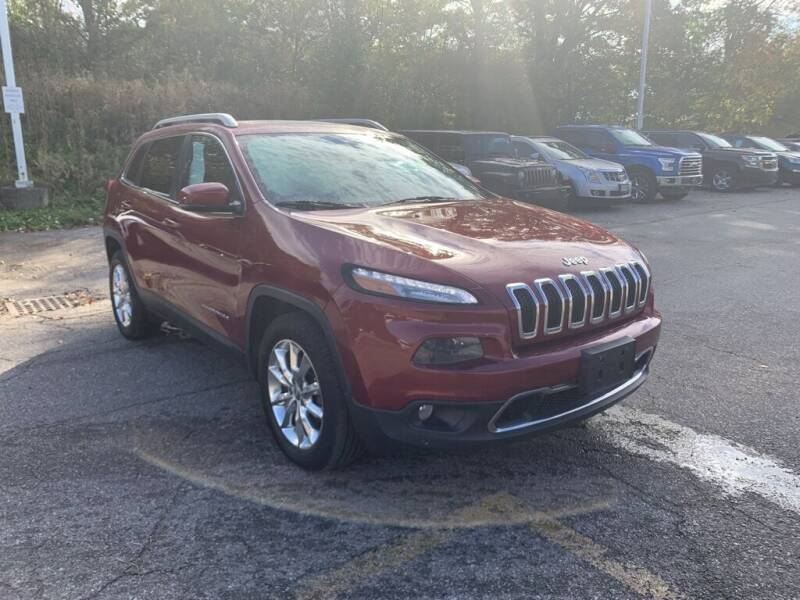2015 Jeep Cherokee for sale at Ganley Chevy of Aurora in Aurora OH