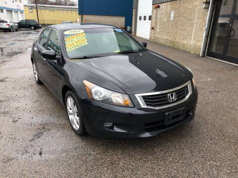 2008 Honda Accord for sale at Adams Street Motor Company LLC in Dorchester MA