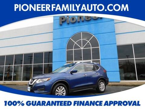 2018 Nissan Rogue for sale at Pioneer Family auto in Marietta OH