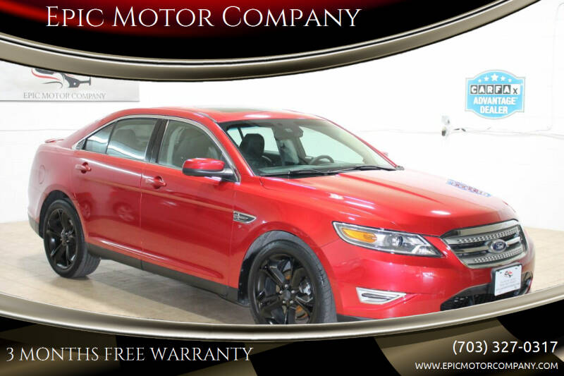 2010 Ford Taurus for sale at Epic Motor Company in Chantilly VA