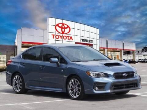 2018 Subaru WRX for sale at PHIL SMITH AUTOMOTIVE GROUP - Pinehurst Toyota Hyundai in Southern Pines NC