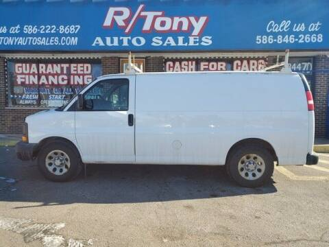 2010 Chevrolet Express Cargo for sale at R Tony Auto Sales in Clinton Township MI