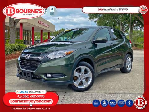 2016 Honda HR-V for sale at Bourne's Auto Center in Daytona Beach FL