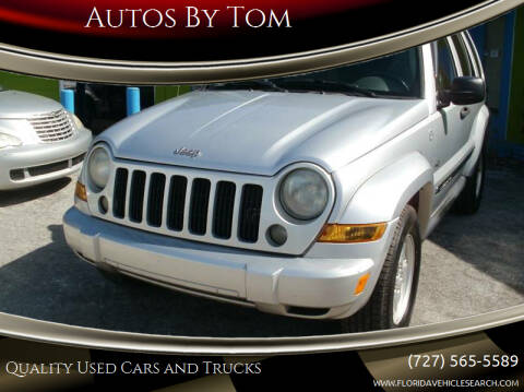 2006 Jeep Liberty for sale at Autos by Tom in Largo FL
