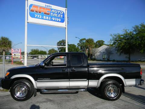 2003 Toyota Tundra for sale at APC Auto Sales in Fort Pierce FL