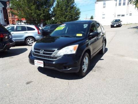 2011 Honda CR-V for sale at FRIAS AUTO SALES LLC in Lawrence MA