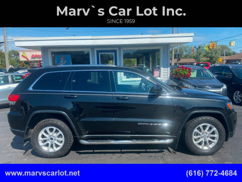 2014 Jeep Grand Cherokee for sale at Marv`s Car Lot Inc. in Zeeland MI