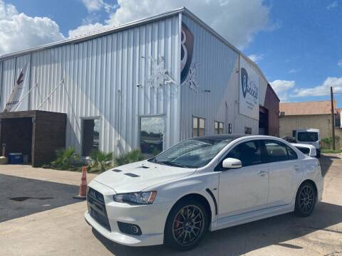2015 Mitsubishi Lancer Evolution for sale at Barrett Auto Gallery in San Juan TX